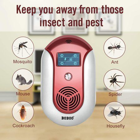 2018 Most Powerful Ultrasonic Electromagnetic Pest Repeller With Led Electronic Plug In Pest Control Ultrasonic Best Repellent For Cockroach Rodents Flie Best Pest Control Pest Control Insect Control