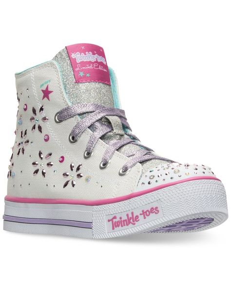 Skechers Little Girls' Twinkle Toes: Shuffles Sparkly and
