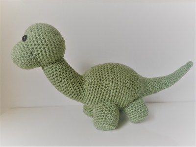 Dino Dinossauro - Amigurumi no Elo7 | Ateliê Artefato (AE315C) | 300x400