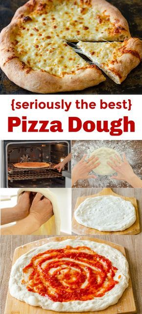 The only recipe you'll need for Pizza dough - this has the best texture - crisp and chewy with a thin crust in the center and the most beautiful bubbly crust. This is the ultimate New York Style Pizza crust and it's so easy!