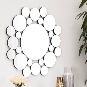 Kentwood Round Wall Mirror With Images Mirror Wall Round Wall