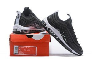 huge discount 93681 5b47e Men s Nike Air Max 97 Ultra SE Just Do It Black White Casual Shoes Sneakers