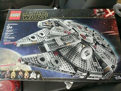 Lego Star Wars Millennium Falcon 75257 New Not Released Yet Have In Hand Lego Star Wars Lego Star Lego War