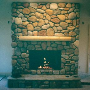 Fireplaces Masonry And Exterior Remodeling For Traverse City