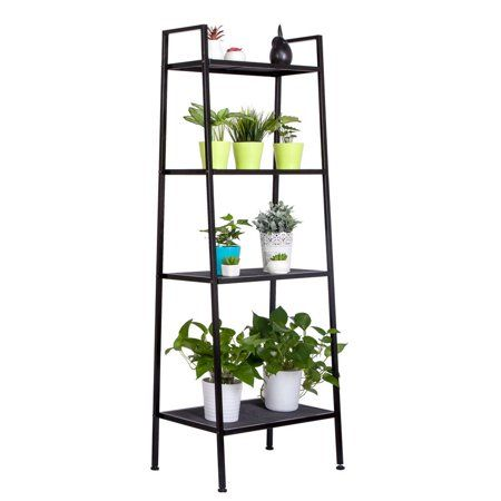 Home In 2020 Leaning Ladder Shelf Ladder Storage Bookshelf Storage