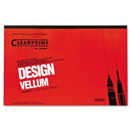 2 Pack of 50 Staedtler Vellum Paper Pad