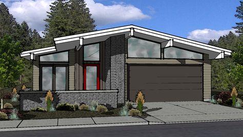 2017 mid century modern home plans on mid century modern house