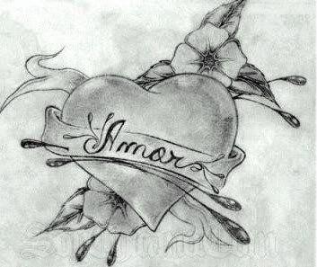 Resultado De Imagen Para Imagenes Para Dibujar A Lapiz De Amor Para Dedicar En 3d Graffiti Drawing Drawings Black And White Drawing