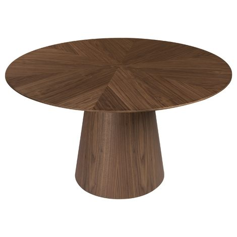 Terry Round Dining Table Walnut Round Dining Table Round Dining Dining Table