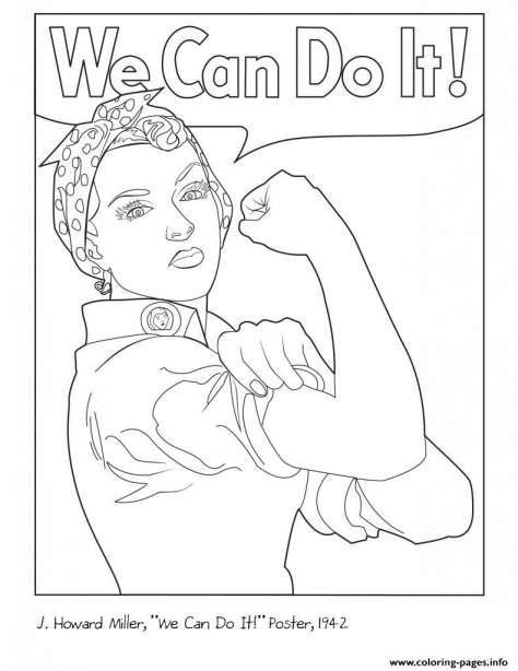 8 Rosie The Riveter Coloring Page Coloring Pages Coloring Pages Inspirational Planet Coloring Pages