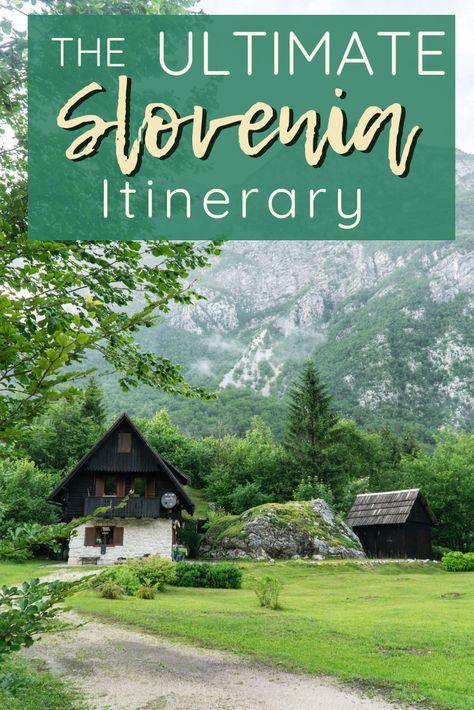THE PERFECT 5 DAY SLOVENIA ITINERARY   The Republic of Rose   #Slovenia #Itinerary #Travel #Europe #LakeBled #Bohinj #Ljubljana