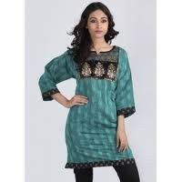 Jacquard kurtis form that part of current fashion trend, which perfectly represent the rich legacy of Indian weaves. The beauty of jacquard weave lies in the fact that the woven patterns lend unmatched urban appeal and sophistication even to the most casual and comfortable of kurtis and tunics.