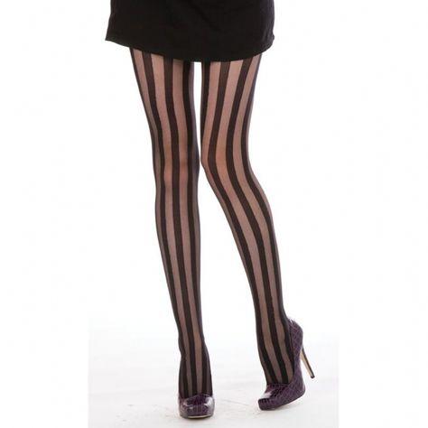 5ca0510f2 Hoisery Stripes Burlesque Stripe Tights