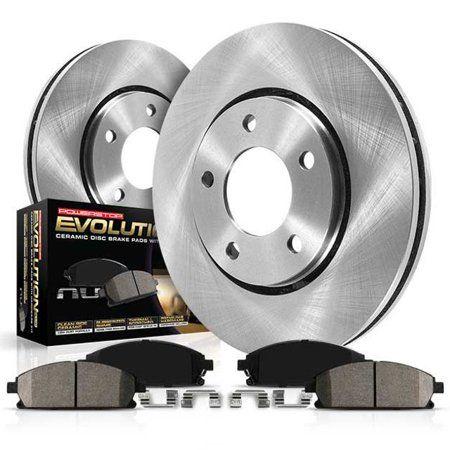 Rear Disc Brake Rotors /& Ceramic Pads 2003 2004 2005 2006 2007 Cadillac CTS STS