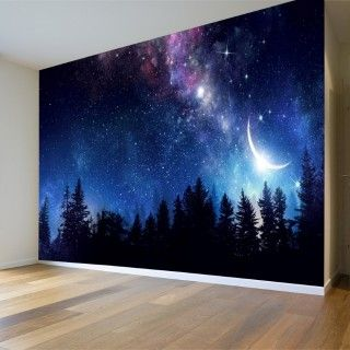 Sky And Space View Wall Poster Poster Wall Galaxy Wallpaper Landscape Walls