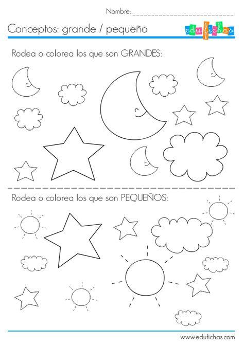 310 Ideas De Conceptos Basicos Nociones Espaciales Actividades Para Preescolar Opuestos Preescolar