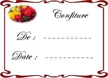 Epingle Par Chantal Desbiens Sur Nettoyage Etiquettes De Pot Etiquettes Confitures Gratuites Etiquette Confiture
