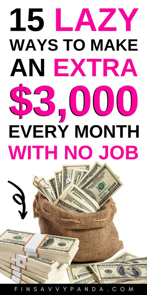 15 Creative Ways To Make Extra Money ($500 a month)