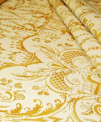Carnival Troubador Parq On Cotton Hand Printed Fabric