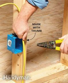12 Tips For Easier Home Electrical Wiring Home Electrical Wiring