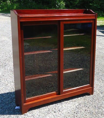 Cherry bookcase with sliding glass doors to auction to auction cherry bookcase with sliding glass doors to auction to auction pinterest cherry bookcase glass doors and doors planetlyrics Images