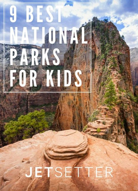 Kid-friendly trails, ranger programs, and wildlife encounters are among the many reasons why national parks make for ideal family getaways. We sorted through the nation's 59 parks to bring you the 9 best national parks for kids.