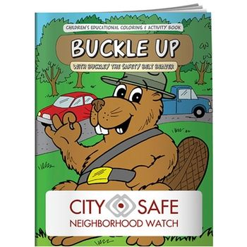 Promo Coloring Book Buckle Up Coloring Books Kids Coloring Books Books