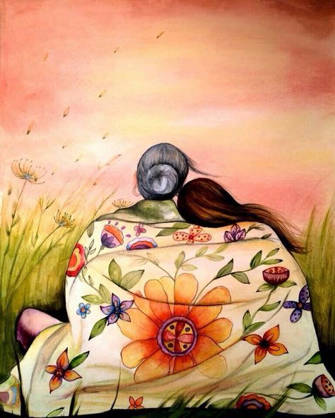 """""""Sweet soul, you have done more than you give yourself credit for, you are far more beautiful than you make out, you have made your way past moments that could have destroyed you and your future shines brighter than you realize.  Celebrate yourself in this moment.  This world is fortunate to have you.""""     ~  SC LourieArtist:  Claudia Tremblay  <3 lis"""