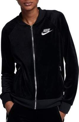 7c6f174a0d Nike Velour Jacket #nike | Activewear in 2019 | Velour jackets, Nike ...