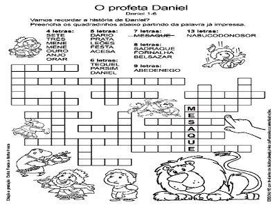 Historia Biblica Daniel Na Cova Dos Leoes Conteudo Gravura E