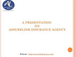 Presentation For Assurelink Insurance Agency Insurance Agency