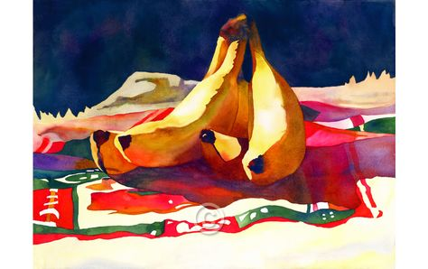 Anne Abgott World Renowned And Award Winning Watercolor Artist