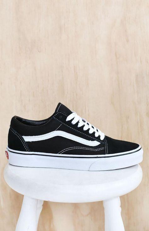 Vans Old Skool black / white | Stég PRODUCT SHOTS | Pinterest | Vans, Van  shoes and Black