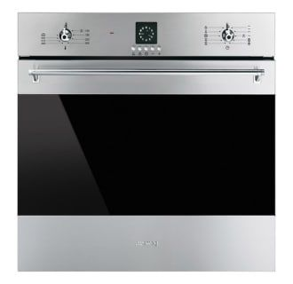 Smeg Sf399xu Stainless Steel 24 Classic Built In Electric Wall Oven Electric Wall Oven Wall Oven Multifunction Ovens