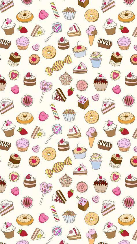 Kawaii Wallpaper Backgrounds Tumblr Hello Kitty 65 Ideas Cute Food Wallpaper Food Wallpaper Wallpaper Iphone Cute