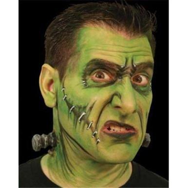 Woochie Latex Appliance ~ High Voltage ~ Bolts through the neck ~ Halloween