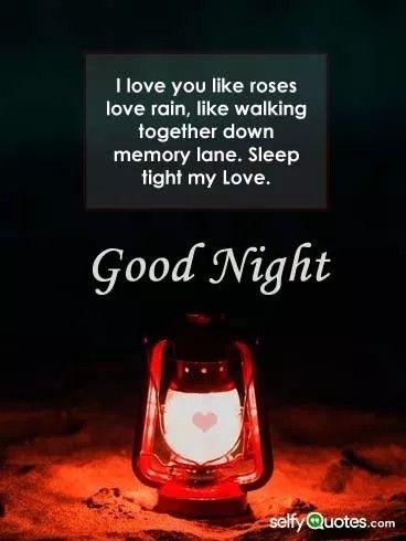 Pin By Selfy Quotes On Good Night Pics Love Rain My Love Sleep Tight