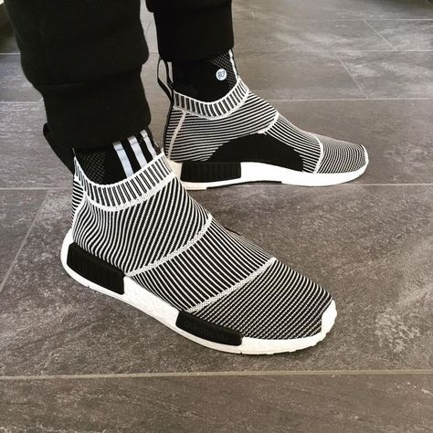 recognized brands good selling separation shoes rhubarbes: Adidas Originals NMD CS1 City Sock via Sneaker ...