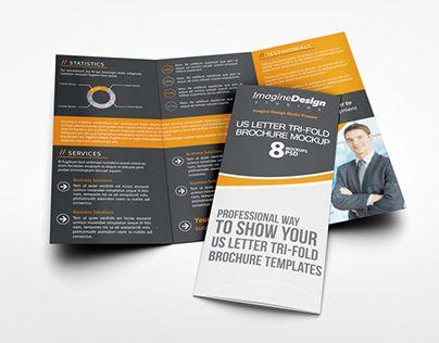 Check out new work on my @Behance portfolio  - gate fold brochure mockup