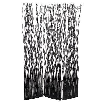 Black Willow Screen Room Divider Room Divider Decor Home Decor