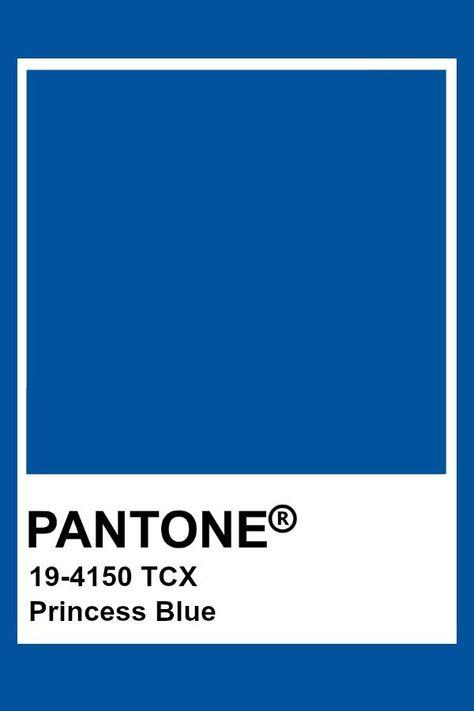 Pantone Princess Blue  Lenzing Colors-Fashion Color Trend 2019 ...