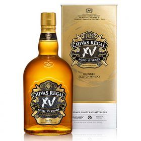 Pernod Launches Cognac Finished Chivas Xv