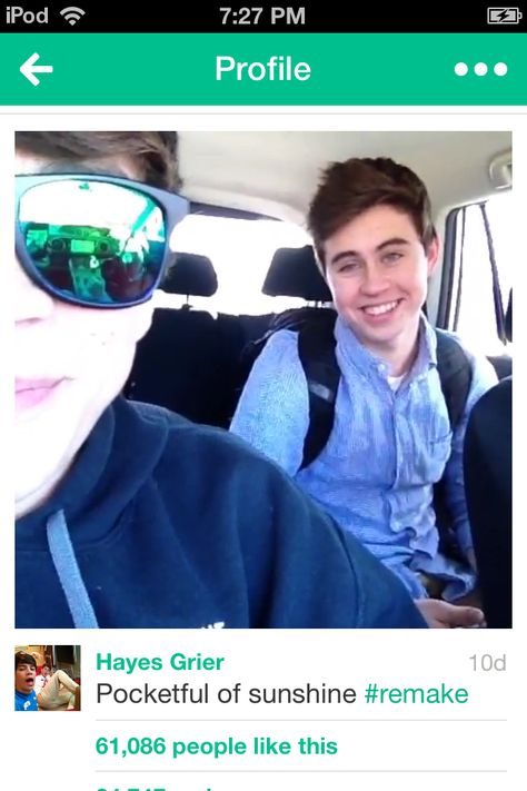 Nash and Hayes Grier