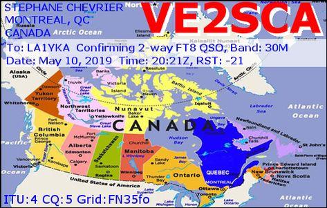 De 423 Beste Bildene For E Qsl Svar Kort Hele Verden Kort