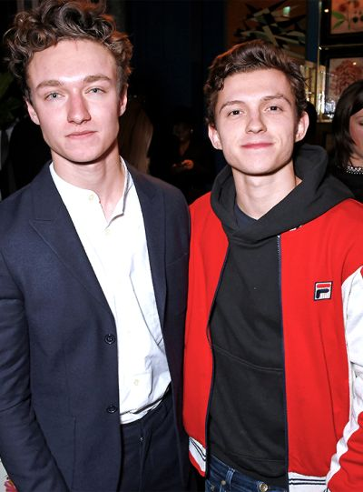 Tom holland and Harrison Osterfield #tomholland #harrisonosterfield