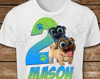 On Sale 30 Puppy Dog Pals Iron On Transfer Diy Puppy Dog Pals Iron On Transfer Shirt Puppy Dog Pals Bi Dogs And Puppies Birthday Shirts Birthday Girl Shirt