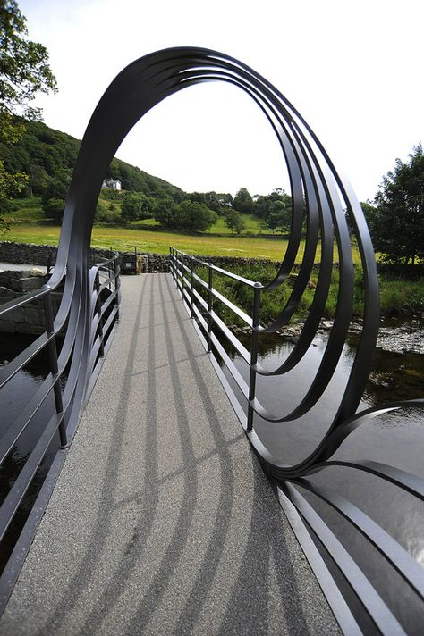 Chris Brammall - Staveley footbridge, Cumbria, England. Click image for full description and visit the slowottawa.ca boards >> http://www.pinterest.com/slowottawa