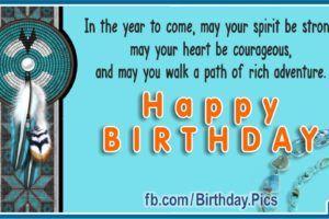 Native American Bead Knitting Birthday Card Birthday Songs Video Happy Birthday Song Video Birthday Cards