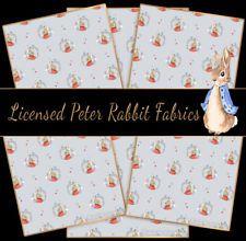 1//2 Metre Fat 1//4 Peter Rabbit 100/% Cotton Fabric Metre,
