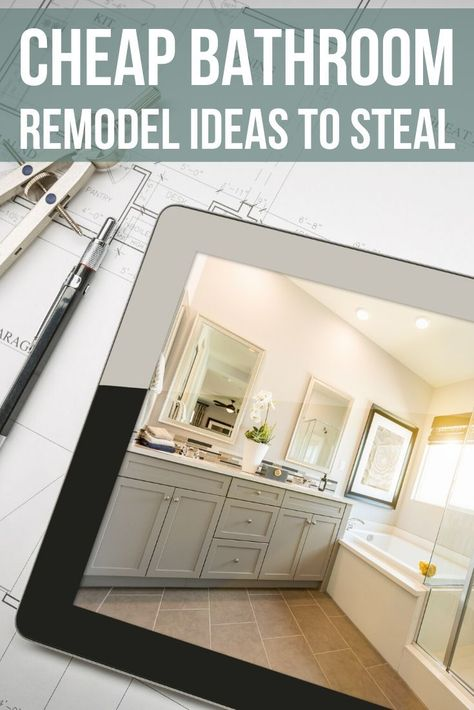 25 Inexpensive Bathroom Remodel Ideas To Steal Cheap Bathroom Remodel Inexpensive Bathroom Remodel Cheap Bathrooms